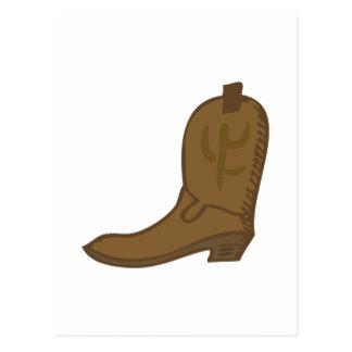 Brun Cowboykänga Vykort