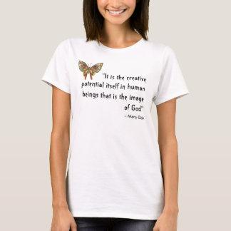 Brun fjäril som är bästa med inspirera tee shirts
