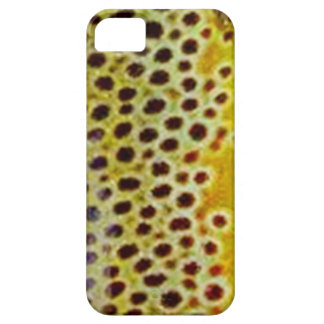 Brun forell vid PatternWear© iPhone 5 Case-Mate Cases
