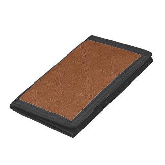 Brun läderstruktur