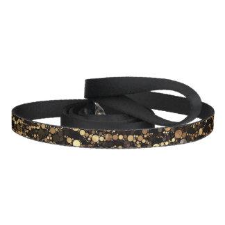 Brun svart Cheetahabstrakt Koppel