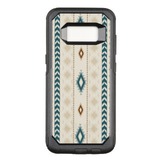 Bruna beige kricka för Aztec stam- neutralt OtterBox Commuter Samsung Galaxy S8 Skal