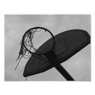 Brunn älskad basketring fototryck