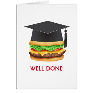 Brunn gjord hamburgaregrattisstudent hälsningskort