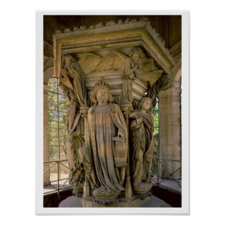 Brunnen av Moses: David och andra profeter, 1395- Poster