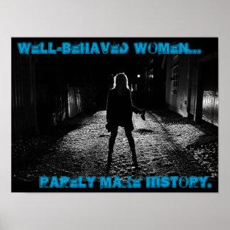 brunnen uppförda kvinnor gör sällan historia poster