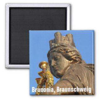 Brunonia del av quadrigaen på det Brunswick Magnet