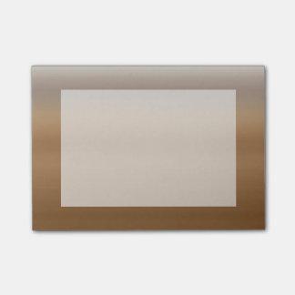 Brunt färg för kaffe för Ombre vattenfärg dopp Post-it Lappar