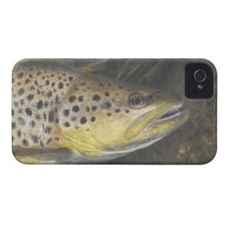 Brunt fodral för forelliPhone 4 iPhone 4 Fodraler