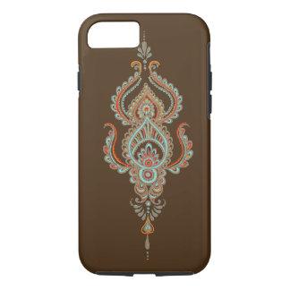brunt fodral för paisley tufft iPhone 7