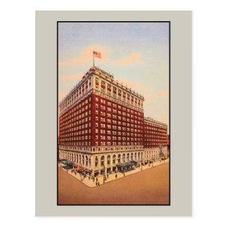 brunt hotell för vintage (Louisville, Kentucky) Vykort