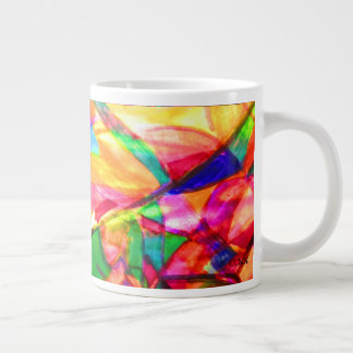 Brusa abstrakt jumbo mugg