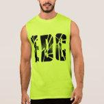 Brusten EDC-utjämnareskjorta Sleeveless T-shirts