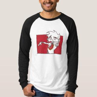 """Brutal knopp 1"""" för brutal musa """"RaglanLng-Sleeve T-shirts"""