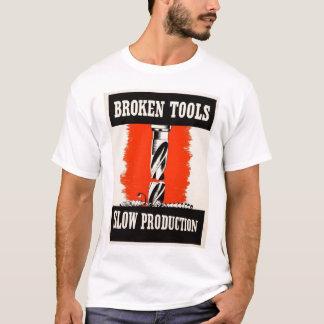 Bruten verktygT-tröja Tshirts