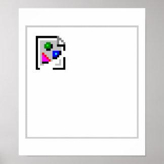Brutet avbilda JPEG för JPGPNG-GIF Poster