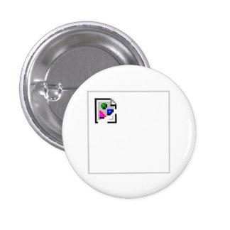 Brutet avbilda PNG för JPGJPEG-GIF Mini Knapp Rund 3.2 Cm
