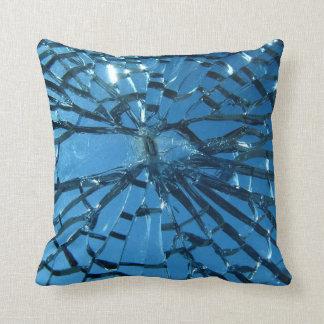 Brutet blåttexponeringsglas kudde
