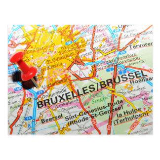 Bruxelles Brussel, Bryssel i Belgien Vykort
