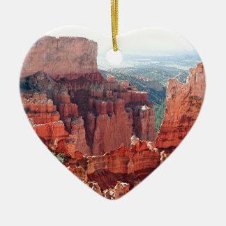 Bryce kanjon, Utah, USA 5 Julgransprydnad Keramik