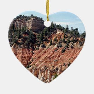 Bryce kanjon, Utah, USA 7 Julgransprydnad Keramik