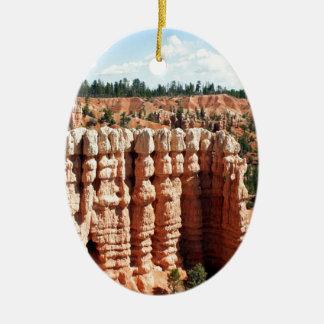 Bryce kanjon, Utah, USA Julgransprydnad Keramik