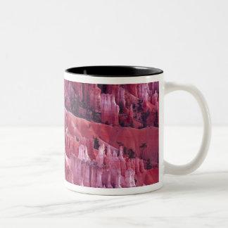 Bryce kanjon, Utah, USA Två-Tonad Mugg