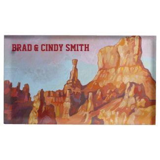Bryce kanjonnationalpark bordskorthållare