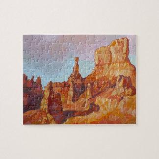 Bryce kanjonnationalpark pussel