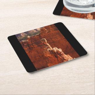 Bryce kanjonnationalpark underlägg papper kvadrat