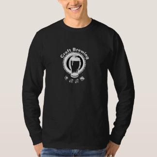 Brygga för hantverk, svart & vit 2 t shirt