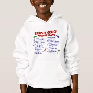 BRYSSEL GRIFFON egendomlagar 2 Tee Shirt