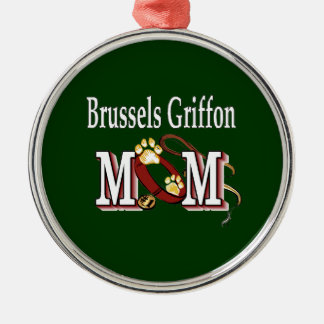 Bryssel Griffon mamma Julgransprydnad Metall