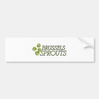 Bryssel groddar bildekal