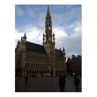 Bryssel stadshus vykort