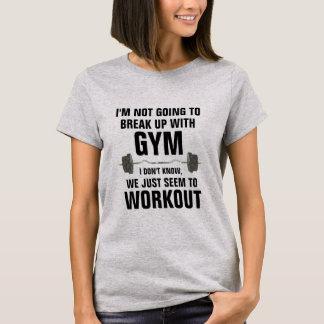 Bryt upp med den roliga genomkörareskjortan för tshirts