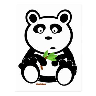 Bubba Pandabjörn Vykort