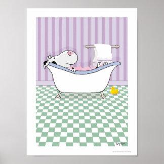 BUBBELBADKOaffisch av Sandra Boynton Poster