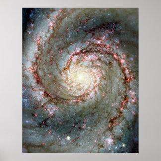 Bubbelpoolgalax Affisch