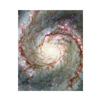 Bubbelpoolgalax Canvastryck