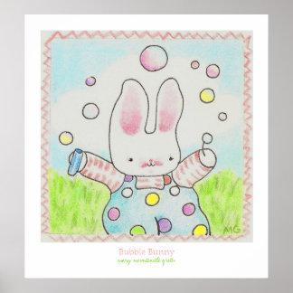 Bubbla kaninaffischen