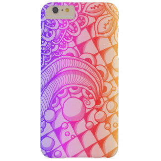 Bubbla klottret barely there iPhone 6 plus skal