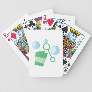 Bubbla leksaken spelkort