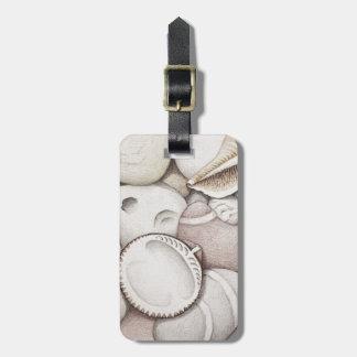 Bubbla & märkre för spiralsnäcka- & småstenbagage bagagebricka