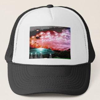 Bubbla molnet Remix hatten/vit stojar samlingen Keps