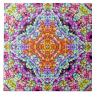 Bubbla-Mosaiken Diamant-Stjärnan mandalaen Kakelplatta