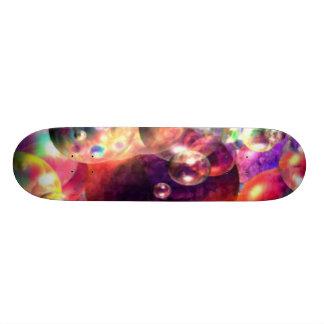 bubbla pojken som skridskon stiger ombord skateboard bräda 20 cm