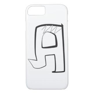 """Bubbla vinkelformigt stilbrev """"A """" för grafitti,"""