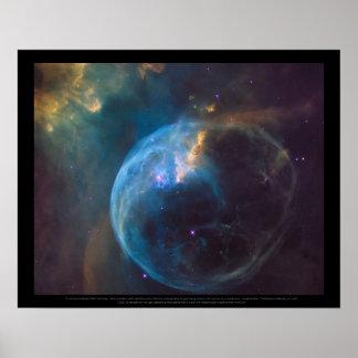 Bubblanebulaen eller NGC 7635 Poster