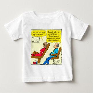 Bubblar privat tanke 892 terapeuttecknaden tshirts